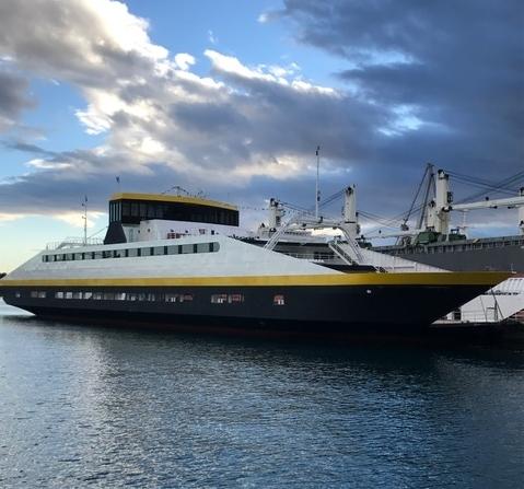 107m Double EndedPassenger Car Ferry 2017 - 800 PAX 202 Cars For Sale