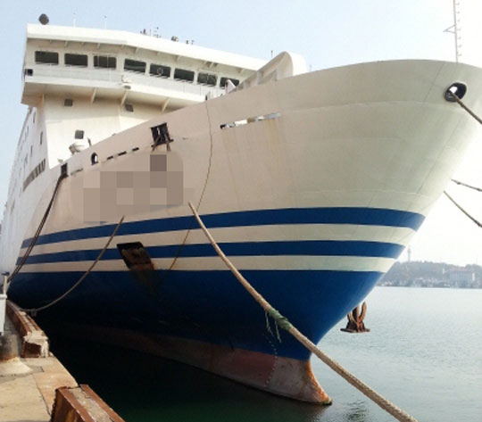 161m ROPAX Ship 2007 - 1128 PAX 200 Trucks - DWT 6984 For Sale