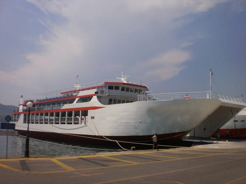 78m LCT ROPAX Vessel 2010 - 600 PAX 128 Cars - DWT 1100 For Sale