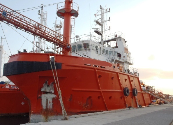 56m MPS OSV Offshore Support Well Stimulation Vessel For Sale