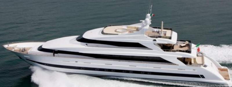 44m Power Motor Yacht Tecnomar Admiral - Built 2009 For Sale