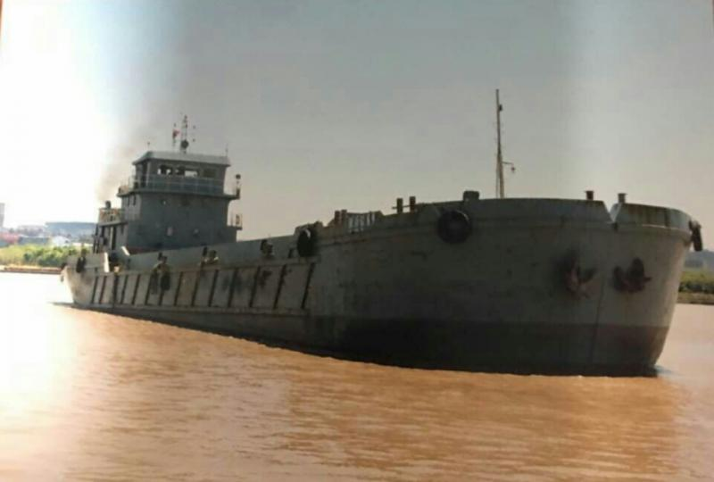 59m Split Hopper Barge - 1100 cbm For Sale