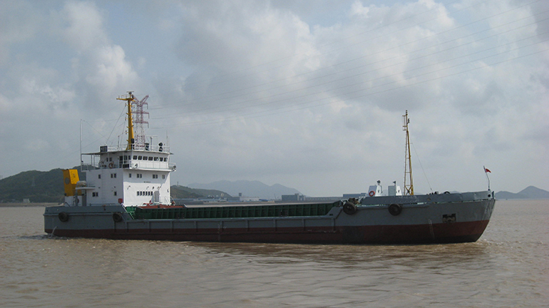 67m Split Hopper Barge Self Propelled - 1500cbm For Sale