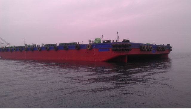 93m Ocean Going Flat Top Barge 2012 - 10 Tm2 Deck Strength - DWT 12013 For Sale