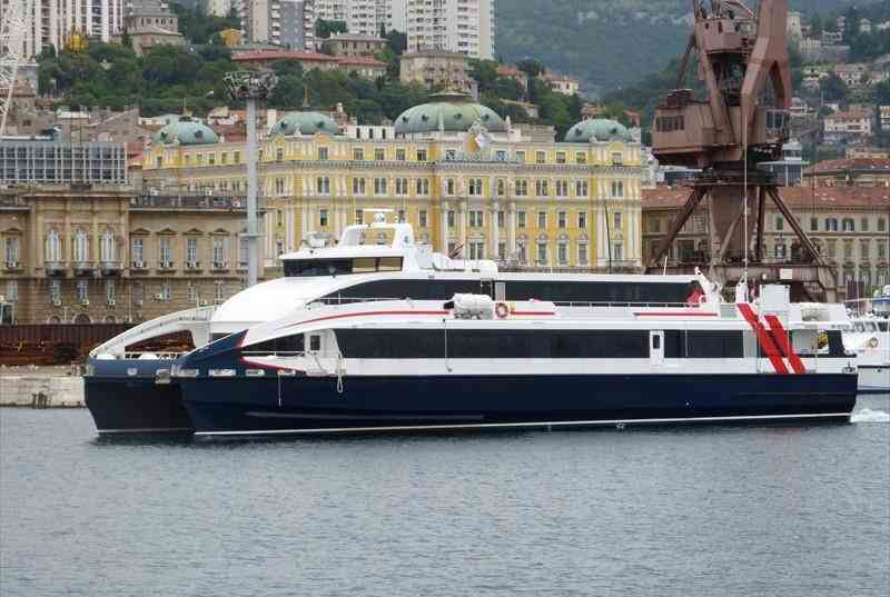 42m Catamaran High Speed Ferry 2012 -  351 PAX For Sale