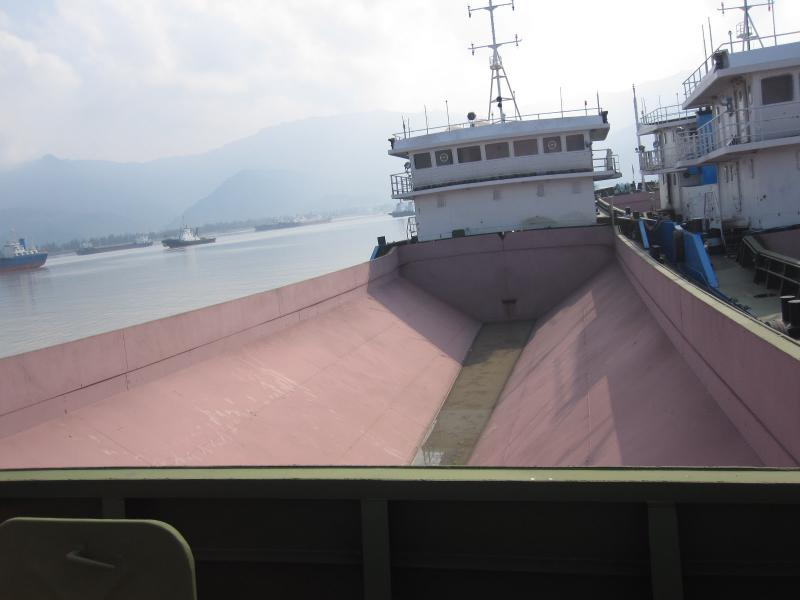 60m Self Propelled Split Hopper Barge - DWT 1500 For Sale