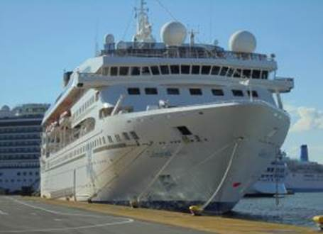 164m Cruise Ship 1992 - 1076 PAX - DWT 1800 For Sale