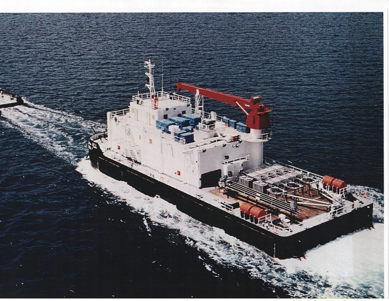 50m Accommodation Maintenance Barge 1984 - 60 Man For Sale