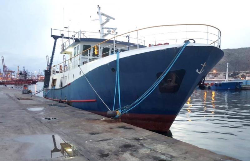 27m Stern Trawler 2004 - 45 CBM Cargo Capacity For Sale