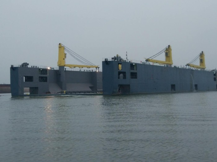 132m Floating Dock 2018 - 5000t TLC - New Build For Sale