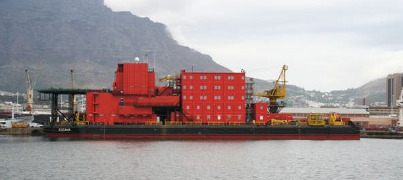 101m Accommodation Work Barge 2002 - 298 Man - 8 Pt Mooring For Sale