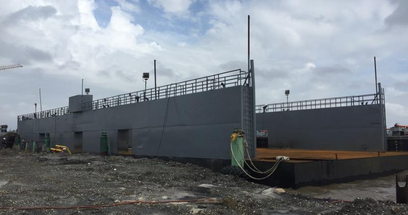 220' x 70' Floating Dry Dock 2001 - Refit 2018 - For Sale