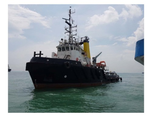 37m AHT Ocean Going Tug Boat 1999 - Bow Thruster For Sale