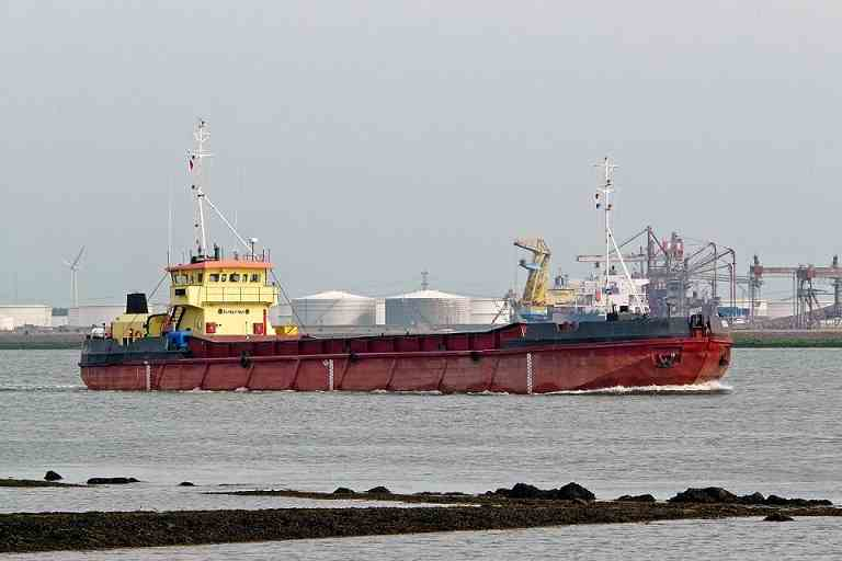60m Split Hopper Barge 1979 - 940 CBM - DWT 1500 For Sale