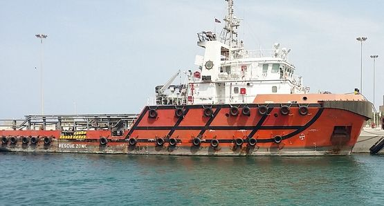 55m AHTS 2011 - 5t M2 Deck Loading - Accommodates 28 For Sale