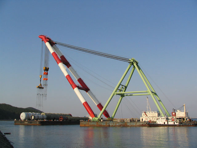 72m Floating Crane 1964 - 1200t TLC - Japan Built For Sale