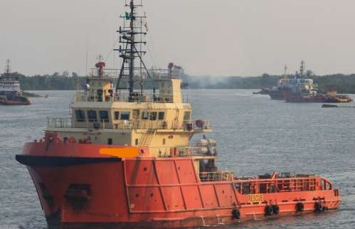 59m Anchor Handling Tug Towing Supply Vessel AHTS 2005 - HP 5150 For Sale