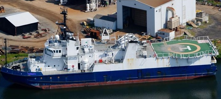 221' Seismic Survey Research Vessel - Heli Deck - 39 Accommodation For Sale
