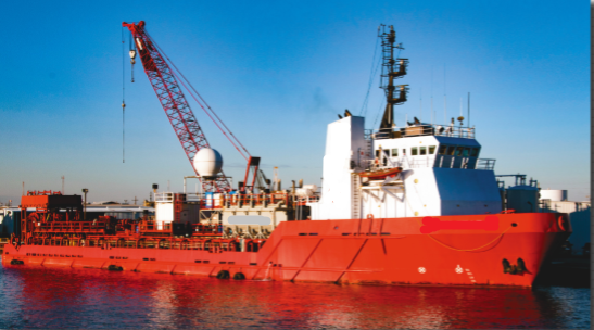 240' Fraq Well Stimulation Accommodation Vessel 1998 For Sale