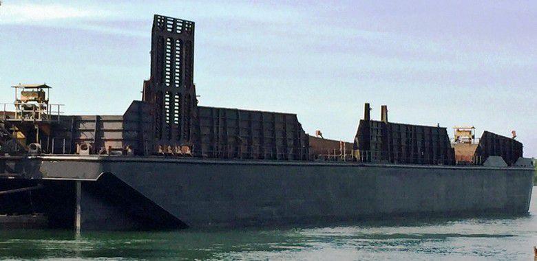 300' x 80' Ocean Deck Barge 2010 - DWT 7480 For Sale