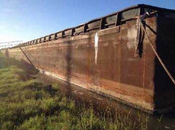 200' x 35' Inland Hopper Barge 1998 For Sale