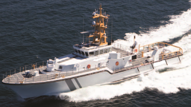 143' Fast Response Patrol Vessel 2017 For Sale