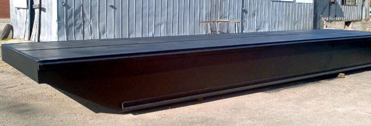 36' x 24' Inland Deck Barge - Three Parts For Sale