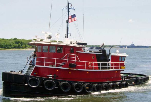 68' Model Bow Ocean Harbor Tug - HP 2200 For Sale
