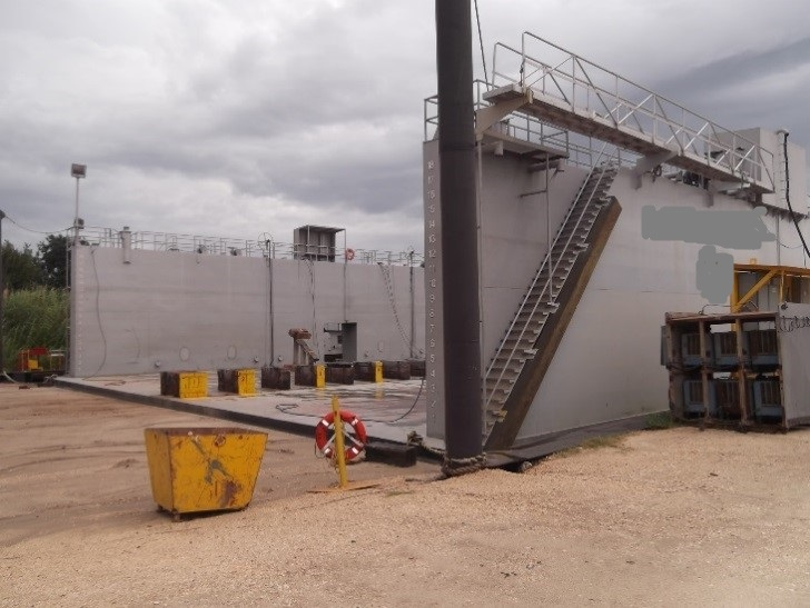 108' x 86' Dry Dock 2014 - Lift Capacity 1200 Tons For Sale