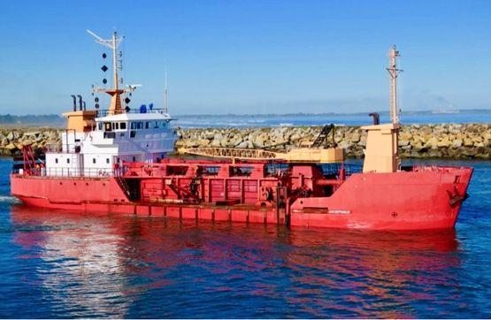 55m Trailing Suction Hopper Dredger - 635 m3 Hopper Capacity For Sale