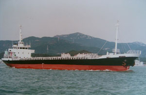 80m General Cargo Ship 1987 -  90 TEU - DWT 2000 For Sale