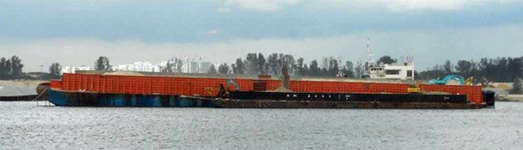 365' x 100' Ocean Deck Barge 2009 - DWT 16000 For Sale