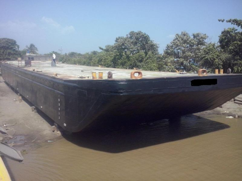 165' x 40' Ocean Going Deck Barge For Sale