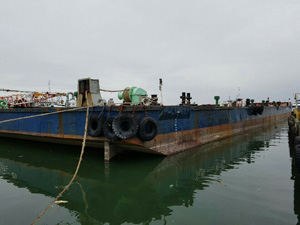 89m Deck Barge 1999 - 16t m2 Deck Strength - DWT 9500 For Sale
