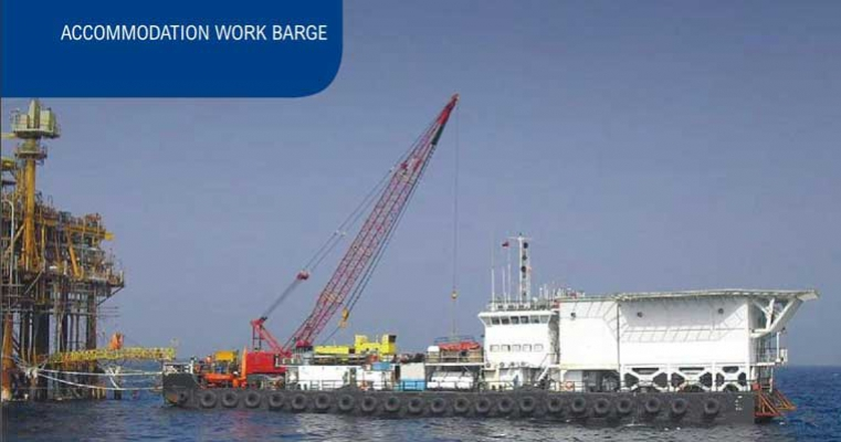 200' x 51' Accommodation Barge - Passengers 200 For Sale