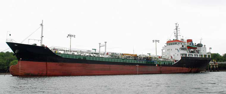 289' Aframax Bulk Oil Tanker 2005 - DWT 3500 For Sale