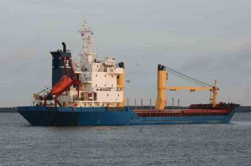 98m General Cargo Ship 1990 - Geared - DWT 4705 For Sale