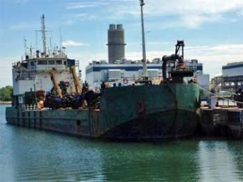 197' Trailing Suction Hopper Dredger - Capacity 1300 Cu yd For Sale