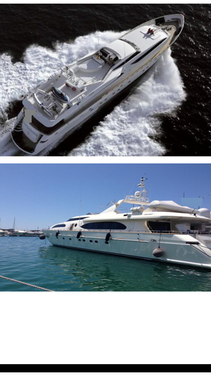 34m Falcon 115 2006 Built Power Motor Yacht For Sale