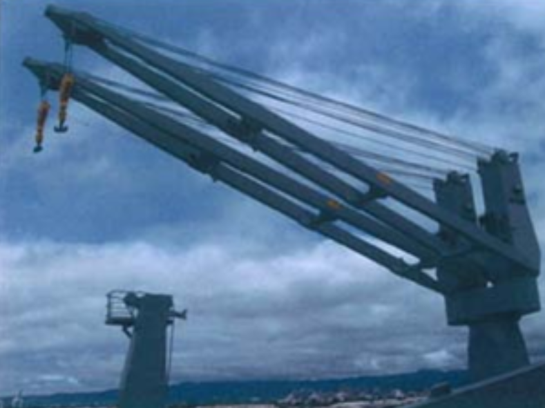 35 Ton Hagglund Ship's Crane For Sale