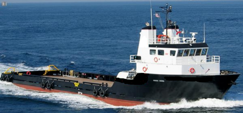 170' Offshore Utility Supply Vessel - HP 1800 For Sale