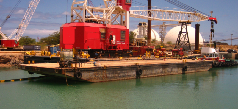 102' x 30' Inland Deck Barge For Sale