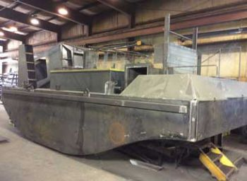 25' Truckable Push Boat Frame New Build For Sale