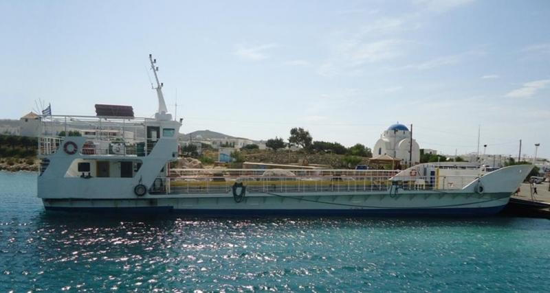 36m LCT Car PAX Ferry 1994 - 100 PAX - 22 Cars - DWT 120 For Sale