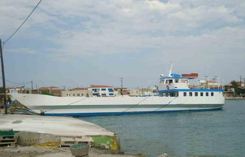 36m LCT Car PAX Ferry Open Type 1986 - 150 PAX - 17 Cars - DWT 150 For Sale