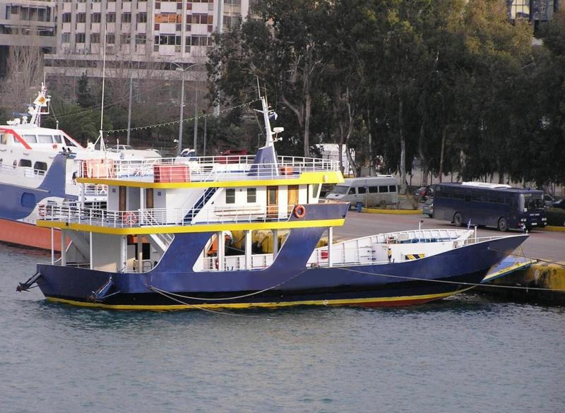 45m LCT Car PAX Ferry Open Type 1996 - 200 PAX - 26 Cars - DWT 200 For Sale