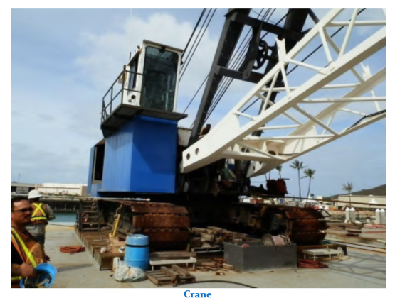 160' x 50' Deck Crane Barge 100 ton Rating And 4500