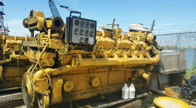 D399TA CAT Caterpillar Marine Engine For Sale