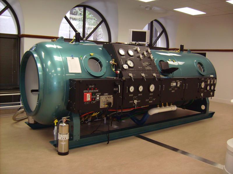 Hypertech 5000  Hyperbaric Decompression Stretch Dive Chamber - 3 ATA For Sale