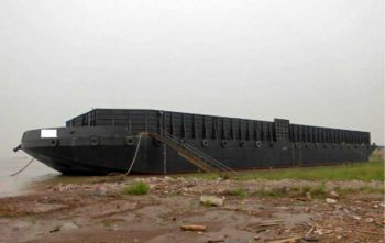 270' x 70' Ocean Inland Deck Barge Bin Walls 2016 - DWT 5500 Tons For Sale